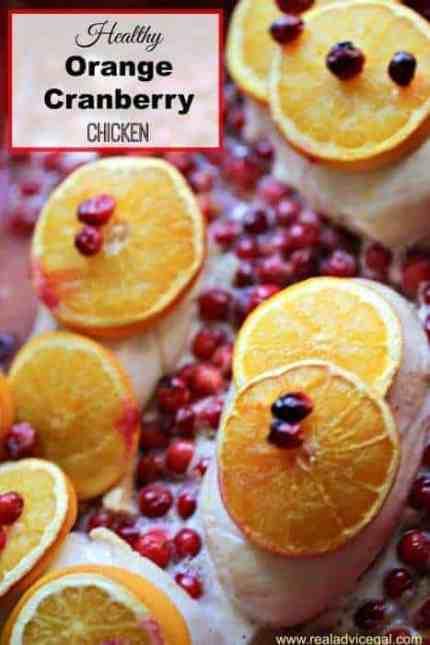 Cranberry Orange Juice Chicken Recipe
