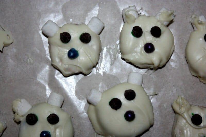 polar bear easy cookies
