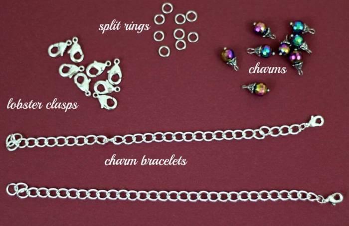 charm bracelet supplies needed