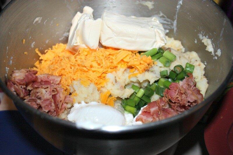 easy loaded potato casserole recipe