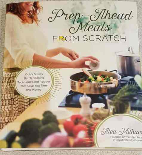 3 Bean Minestrone Soup Recipe from Prep-Ahead Meals From Scratch