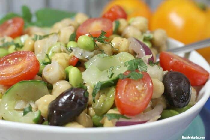 Edamame Bean Salad Recipe