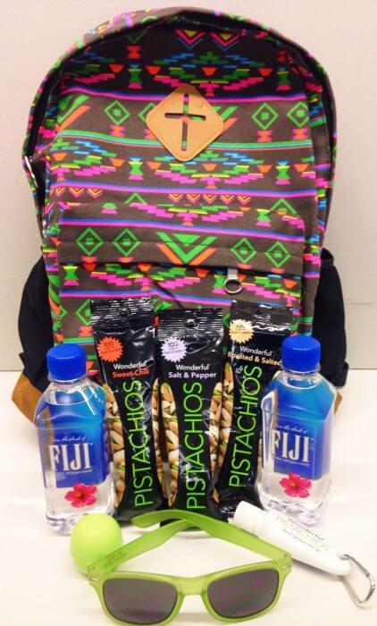 Wonderful Pistachios Festival Survival Pack