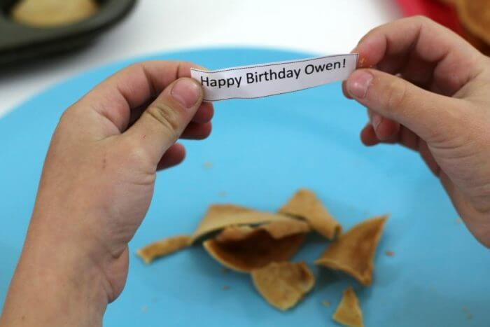 Happy Birthday Fortune Cookie