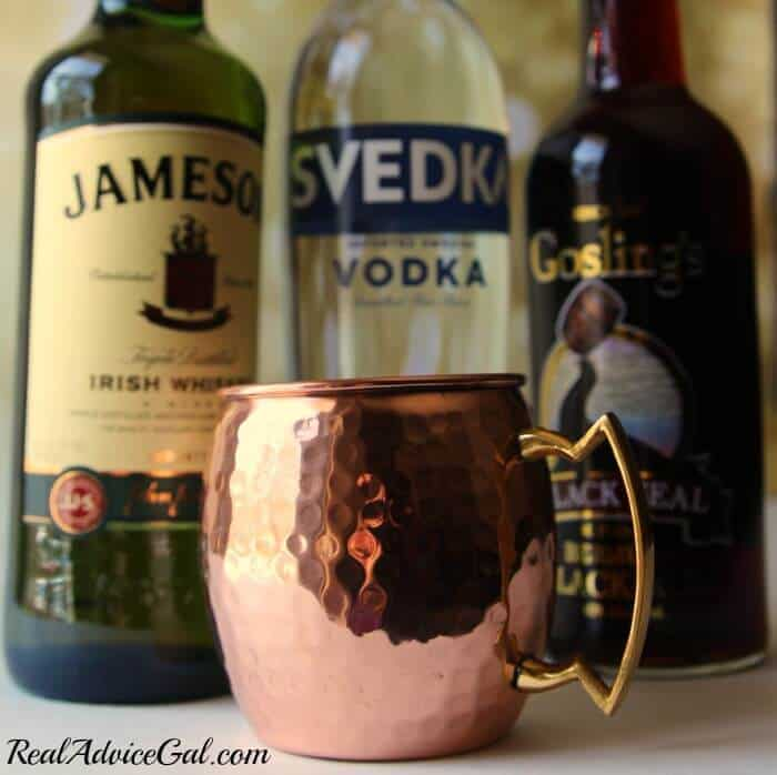 Moscow mule drink variations