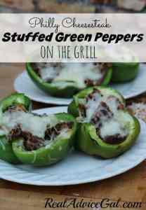 Philly Cheesesteak stuffed peppers recipe ready to eat yum