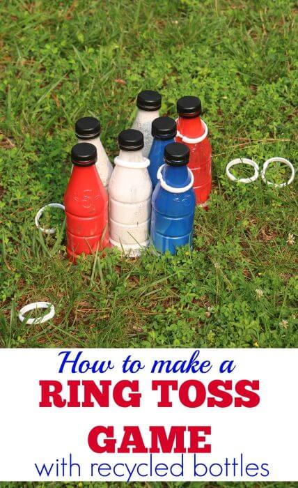 Create time for you with snapple and a ring toss game