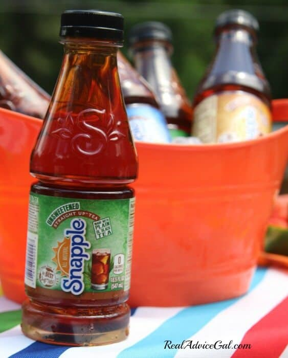Creating time for me with Snapple