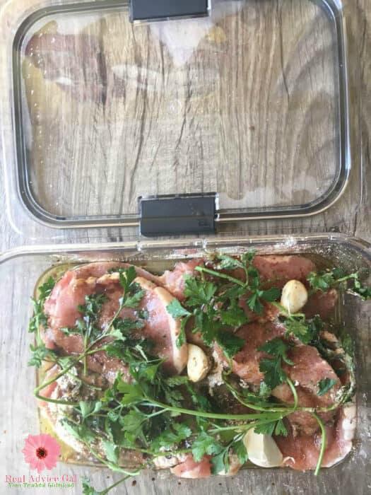 Easy pork chops recipe