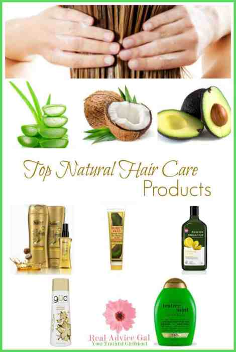 Our picks of natural hair care products to keep your hair healthy and in shape