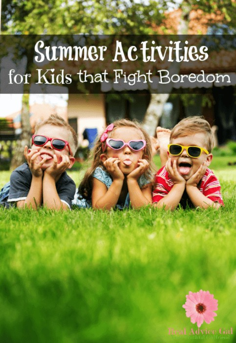 10 Summer Activities for Kids that Fight Boredom