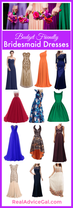 Best Cheap Bridesmaid Dresses