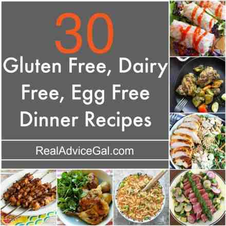 Delicious Gluten Free Dairy Free Egg Free Recipes that you should try!