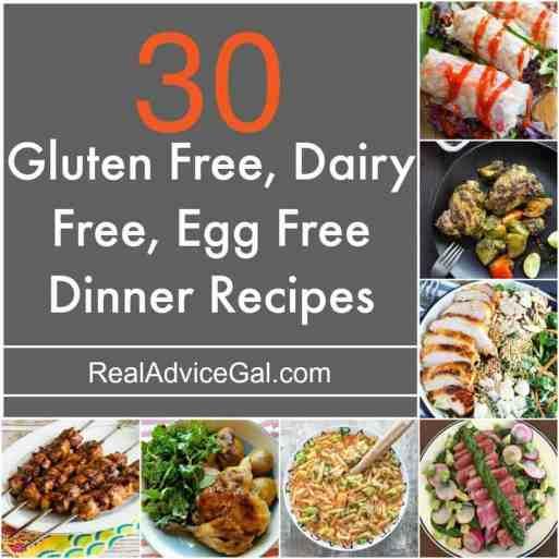 Gluten Free Dairy Free Egg Free Recipes