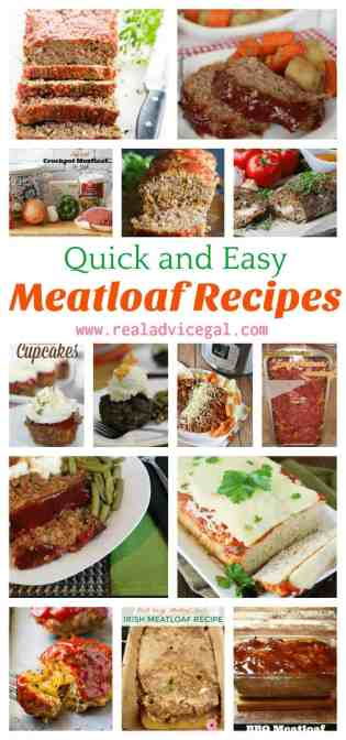 Is meatloaf your comfort food? Try these quick meatloaf recipes that are easy to make and so tasty. It's perfect for making special meal or for holiday dinner.