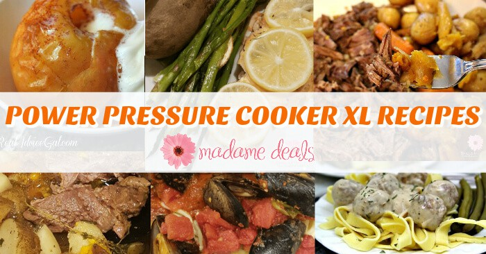 Power Pressure Cooker XL recipes