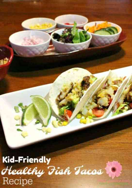 Get your kids to eat healthy food like seafood by serving tasty fish recipes that they will love. You have to try this healthy fish tacos recipe using Alaska cod fish.