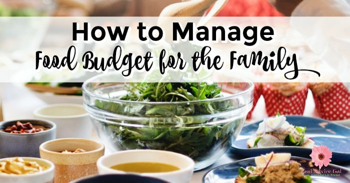 Learn how you can manage food budget for the family/