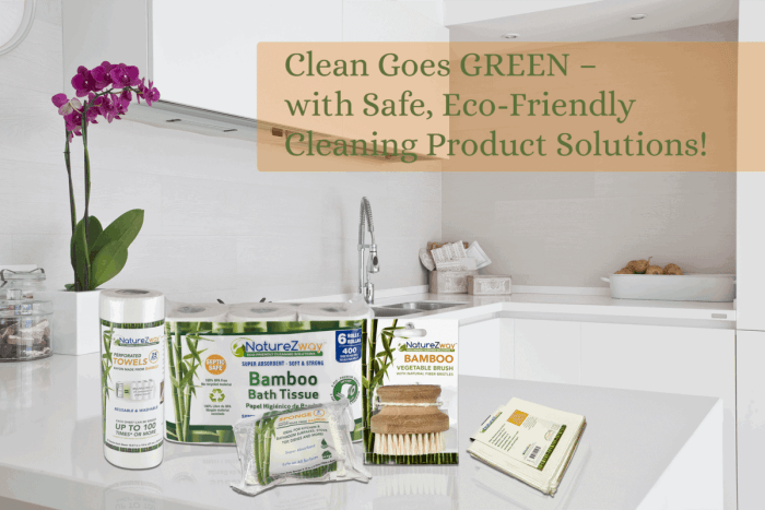 Do you want to have magical paper towels? Go green! Check out NatureZway's cost-effective and eco-friendly bamboo cleaning products.