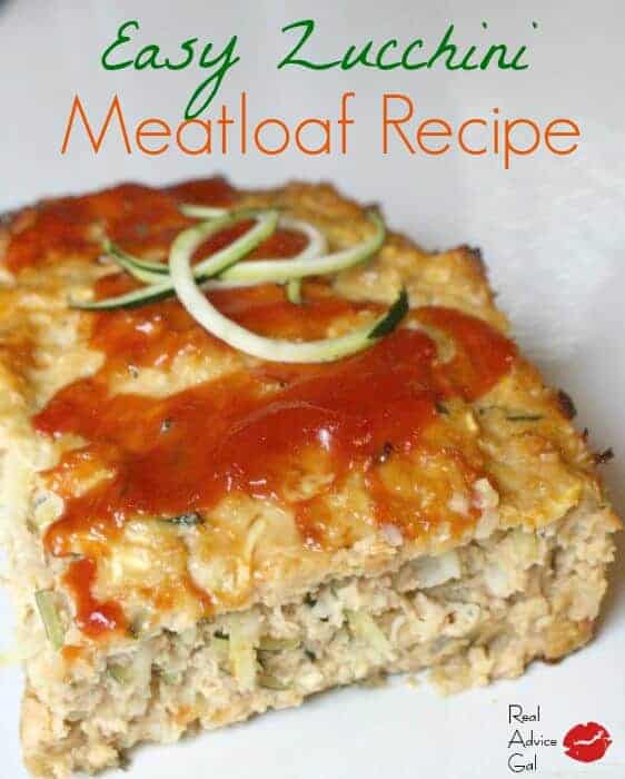 Easy and delicious zucchini meatloaf recipe