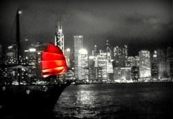 Big city, bright lights, Hong Kong