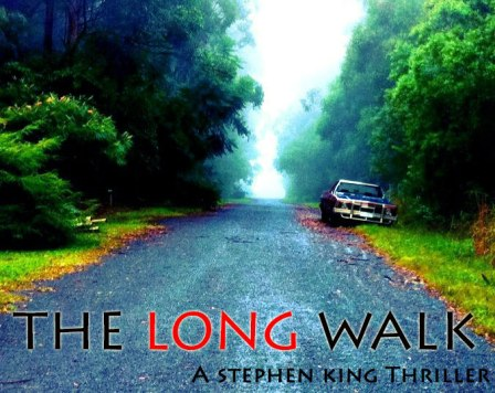 Re-imagining this photo taken at the Binnaburra National Park in Brisbane as a cover for Stephen King thriller The Long Walk. Buy the book here