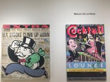 The 3 Lurie brothers representing the artist Nelson De La Nunez. But who painted the first Monopoly Man?