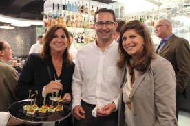 (left to right) Stacey Kelz of Stacey-Robins Realty Group, Jack Resnick & Sons' Adam S. Rappaport, and Glanzrock Curatorial Services' Cindy Farkas Glanzrock