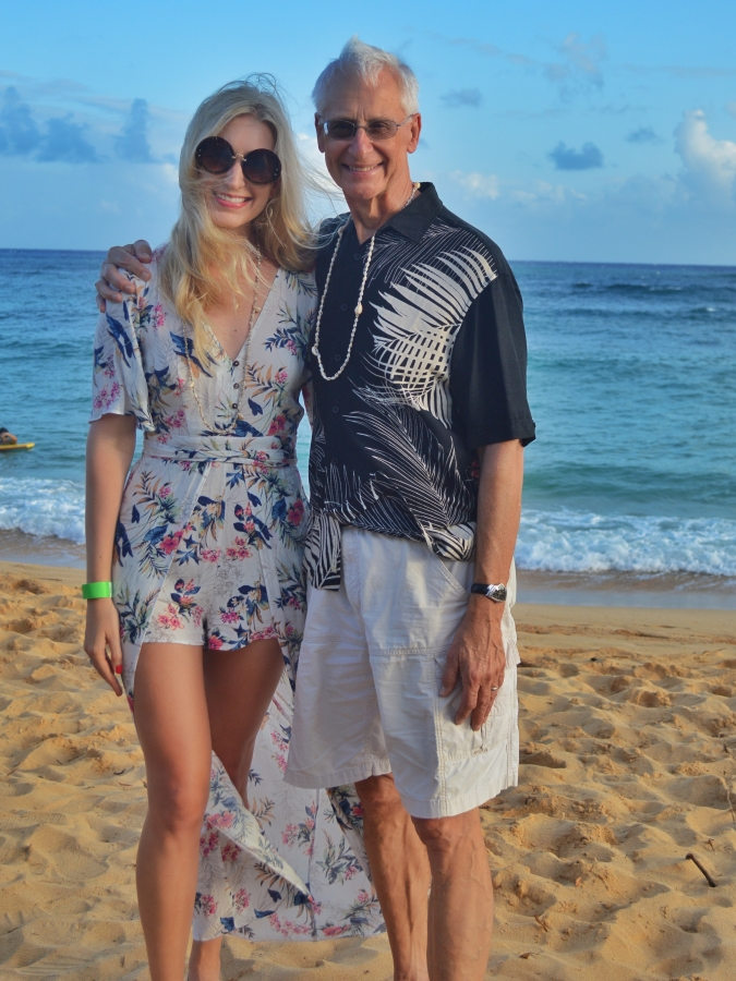 father daughter in hawaii
