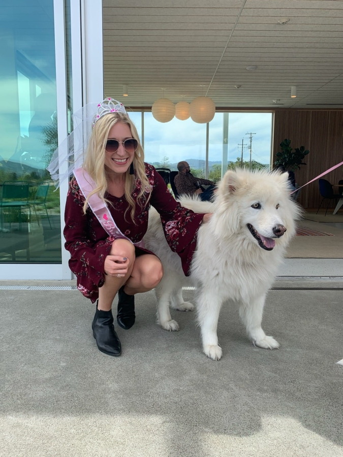 doggie at ashes and diamonds