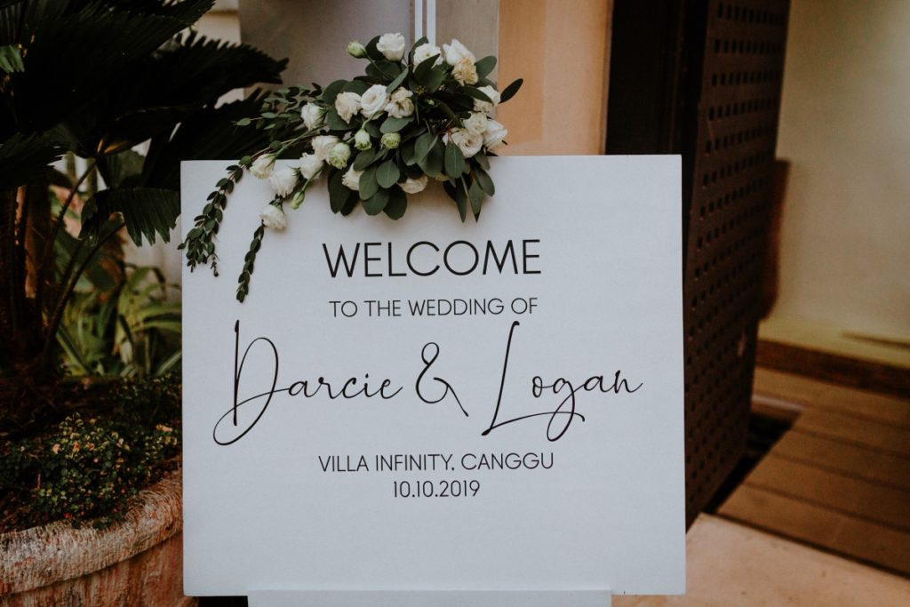 white and green welcome sign | The Realationship Project