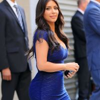 Kim Kardashian Flaunts Curves In Two Skin Tight Outfits As Her And Kanye Plan Property Business