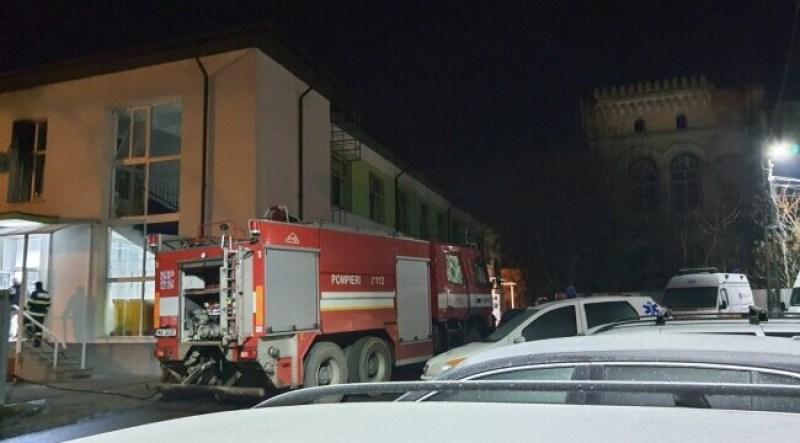 Noii informații despre Incendiu la Secția de Psihiatrie a Spitalului Roman. Poliția a aflat care este adevărata cauză care a provocat acest dezastru