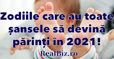 Zodiile care au toate șansele să devină părinți în 2021. Decid să facă un pas important în viața lor