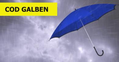 Avertizarea meteo a fost prelungită de ANM. Va fi vânt puternic și ploi, iar în unele zone ne vom aștepta și la grindină
