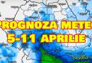 Prognoza meteo 5-11 aprilie. Iarna nu pleacă: Un val de aer rece traversează România