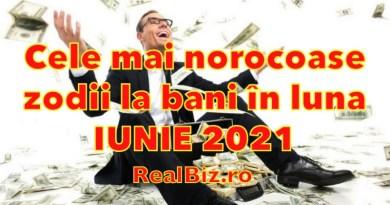 Zodiile care dau lovitura în luna IUNIE la capitolul bani! Cele mai norocoase zodii în luna iunie 2021, care se pot îmbogăți rapid