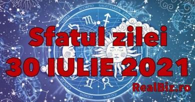 Sfatul zilei 30 iulie 2021. Gemenii și Taurii trebuie să fie atenți la câțiva nativi, iar Racii trebuie să își asculte…