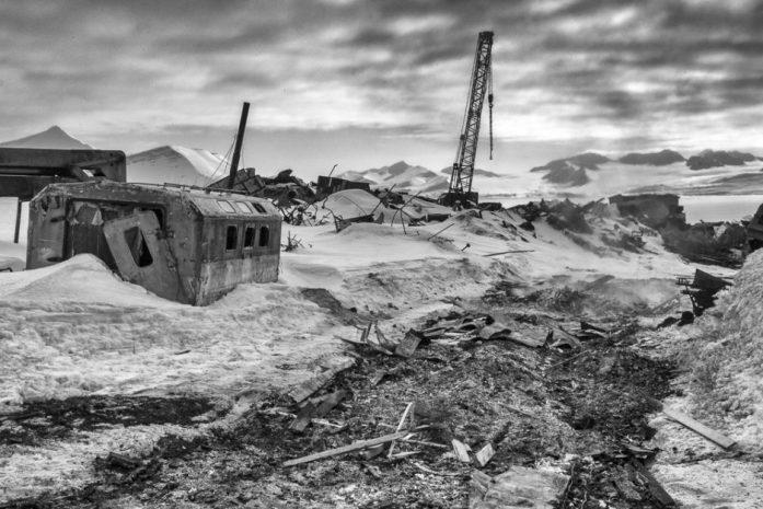 Skládka v Barentsburgu