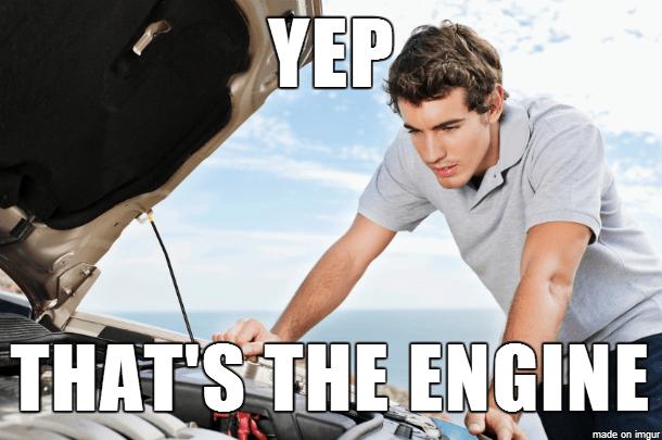 Meme oprava motoru