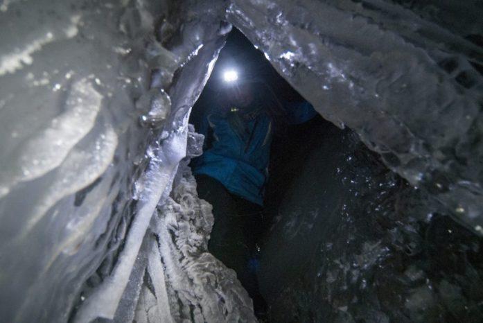 Ledová jeskyně Špicberky