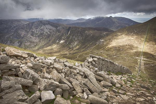 Severní Irsko - Pohoří Mourne