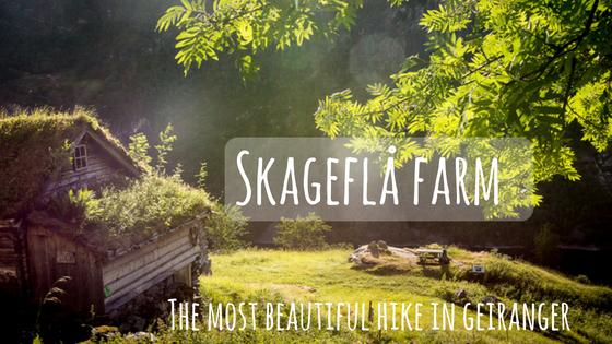 Skageflå mountain farm in Geirangerfjord