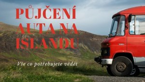 Půjčení auta na Islandu nadpis