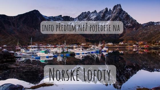 Informace o souostroví Lofoty nadpis