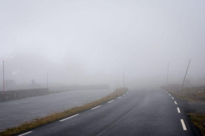 Norsko špatné počasí
