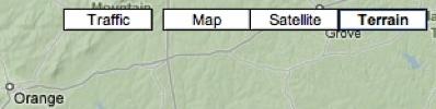 Google-Terrain - Central-Virginia