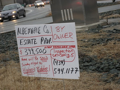 Unrepresented Seller in Albemarle County, Virginia