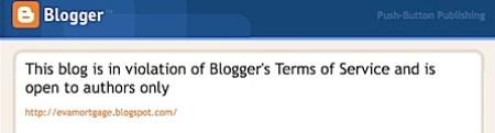 Splogger foiled