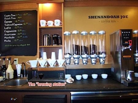 Shenandoah Joe's on Ivy Road in Charlottesville, Virginia